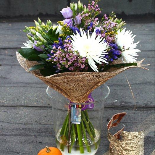 За партой с Анастасией: букеты цветов на заказ Flowwow