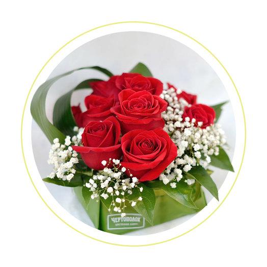 Букет IN RED: букеты цветов на заказ Flowwow