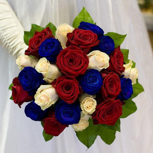 Букет невесты Россиянка