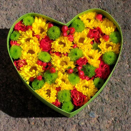 Светофор (Композиция 276): букеты цветов на заказ Flowwow
