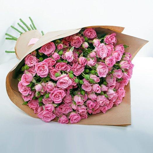 Букет из 11 кустовых роз: букеты цветов на заказ Flowwow