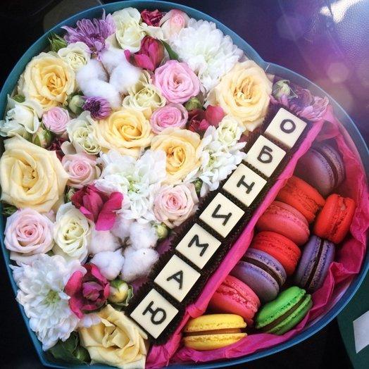Любовь на расстояние: букеты цветов на заказ Flowwow
