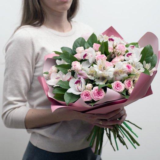 Букет Цветочный восторг