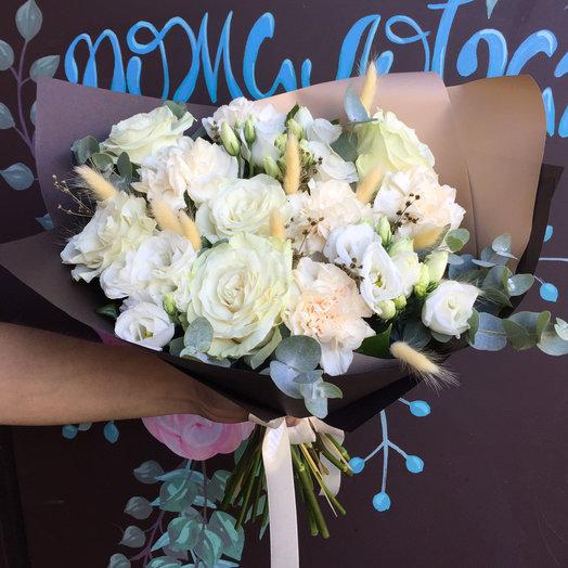 Букет Ваниль: букеты цветов на заказ Flowwow