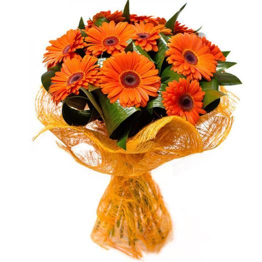 «Тропическое солнце»: букеты цветов на заказ Flowwow