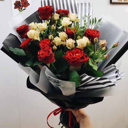 Страсти по Шекспиру: букеты цветов на заказ Flowwow
