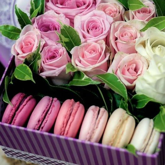 Sweet box к 1 сентября: букеты цветов на заказ Flowwow