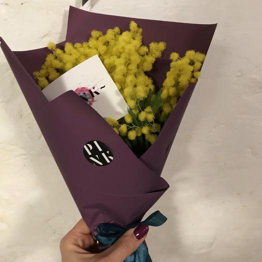 Мимоза комплимент: букеты цветов на заказ Flowwow