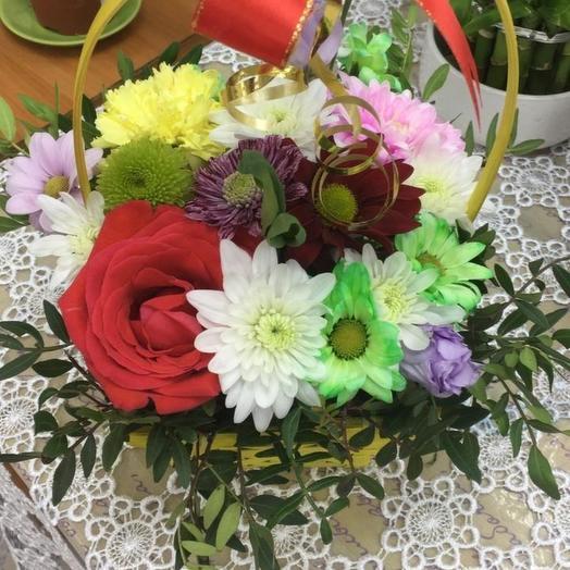 Корзина цветочная
