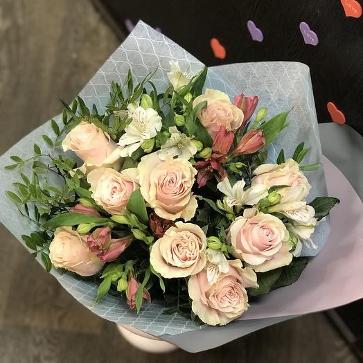 БукетRM 201903: букеты цветов на заказ Flowwow