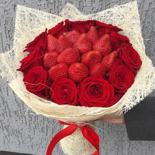 """Букет """" Красный бархат"""": букеты цветов на заказ Flowwow"""