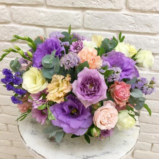 Сиреневая композиция: букеты цветов на заказ Flowwow