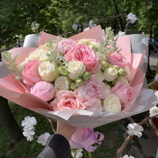 Потрясающий нежный: букеты цветов на заказ Flowwow