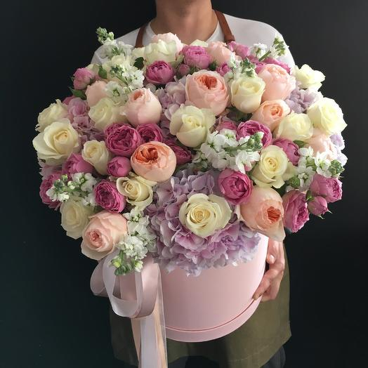 Коробочка дня ! С пионовидными розами