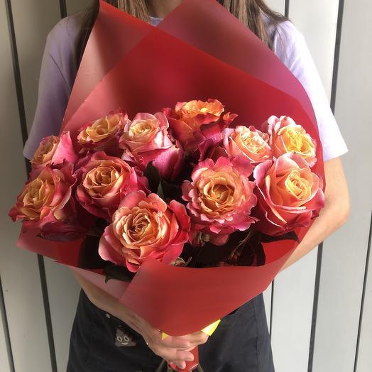 Роза эквадорская: букеты цветов на заказ Flowwow