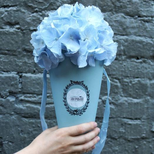 Гортензия в вазе: букеты цветов на заказ Flowwow