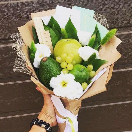 Съедобный букет 6: букеты цветов на заказ Flowwow