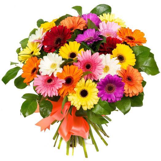 """Букет из гербер """"Сочный"""": букеты цветов на заказ Flowwow"""