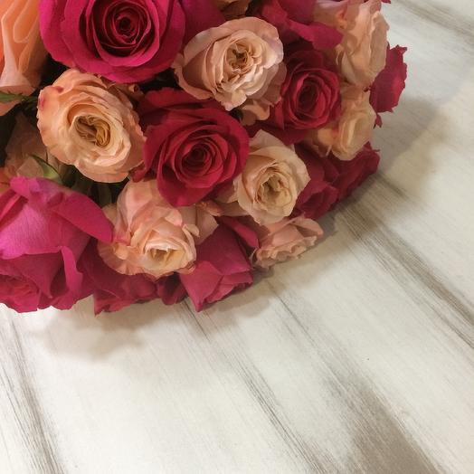 Букет  «Винтаж»: букеты цветов на заказ Flowwow