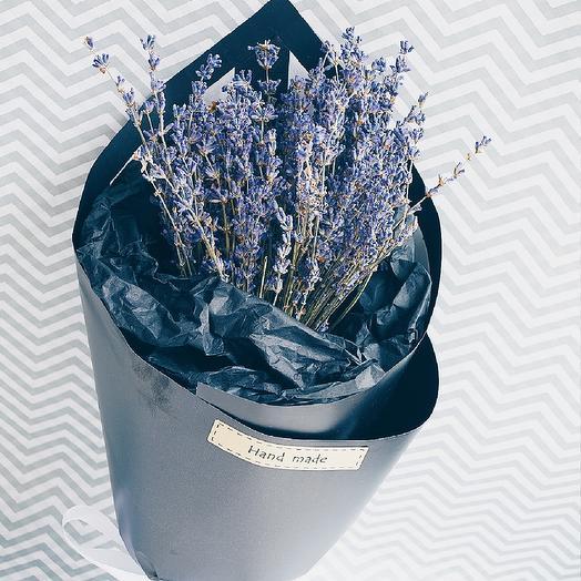 Лавандовый взрыв мини: букеты цветов на заказ Flowwow