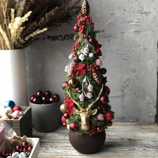 Рождественская ёлка: букеты цветов на заказ Flowwow