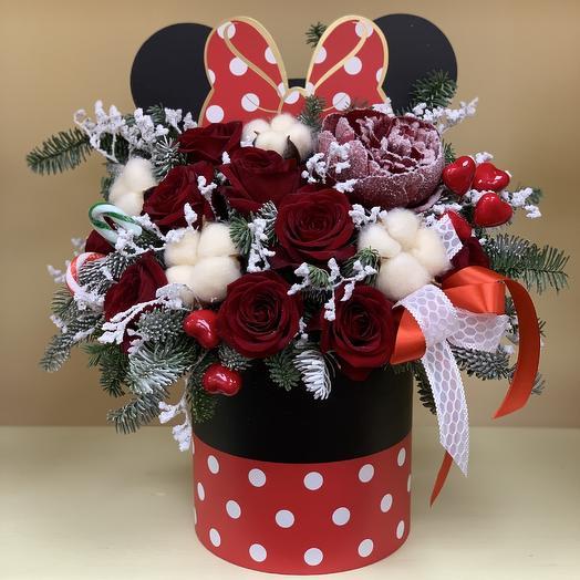 Волшебный микки: букеты цветов на заказ Flowwow