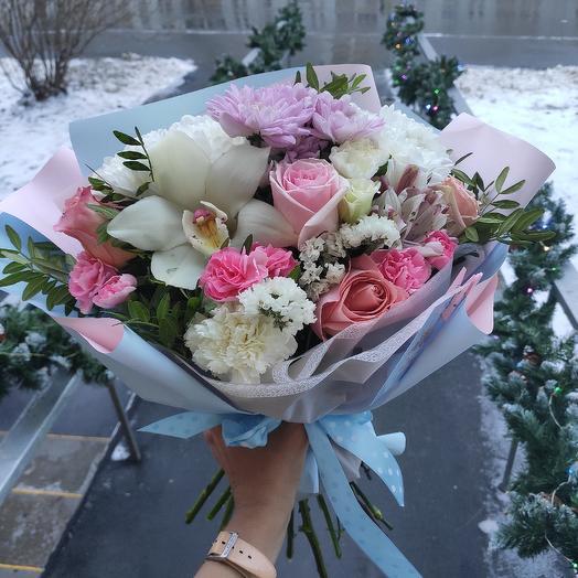 Няшный: букеты цветов на заказ Flowwow
