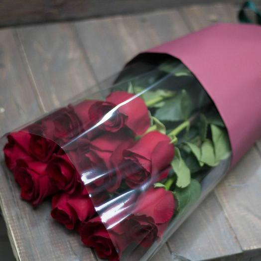 Красные розы 18