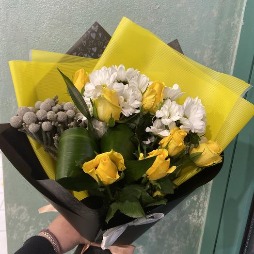 С 23 февраля: букеты цветов на заказ Flowwow