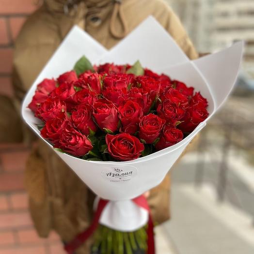 Красные розы любви 🌹