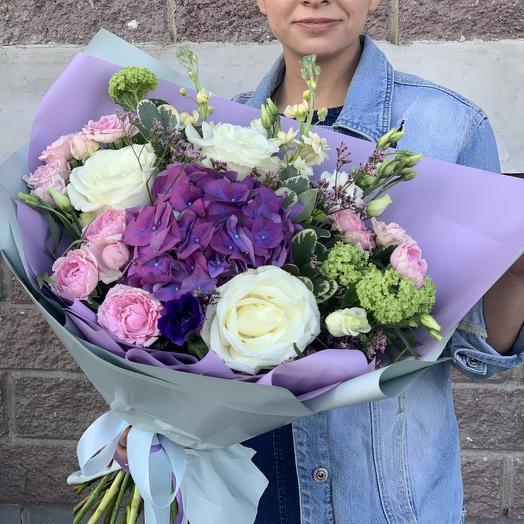 Букет «Фиолетовый восторг»: букеты цветов на заказ Flowwow