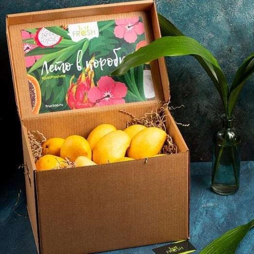 Набор Манго Кео - 3 кг + Кокосовая Вода в подарок