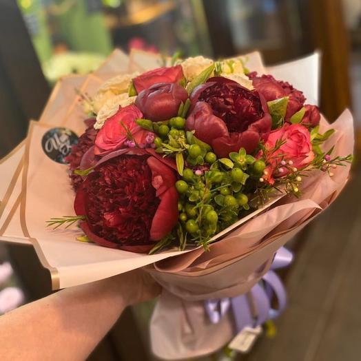 Red charm: букеты цветов на заказ Flowwow