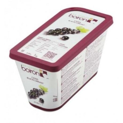 Пюре из черной смородины с сахаром Замороженное ТМ Boiron 1 кг