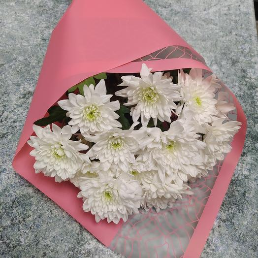 Хризантемы в розовом