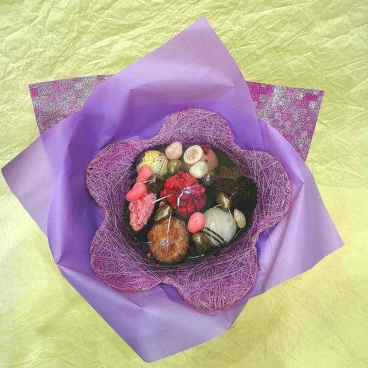Букет из конфет ручной работы FRENCH KISS SPB 1.5