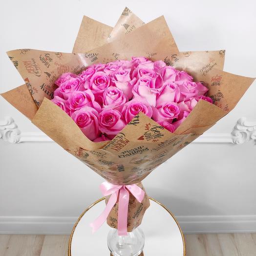 "Bouquet of 35 delicate roses "" Dream"""