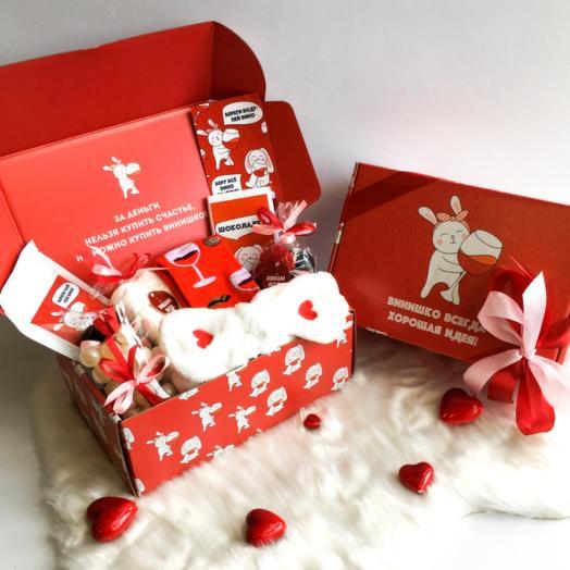 """Подарочный набор DREAMBOX женский """"Винишко всегда хорошая идея"""""""