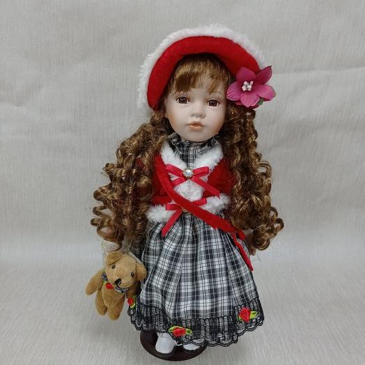 Куколка с мишкой