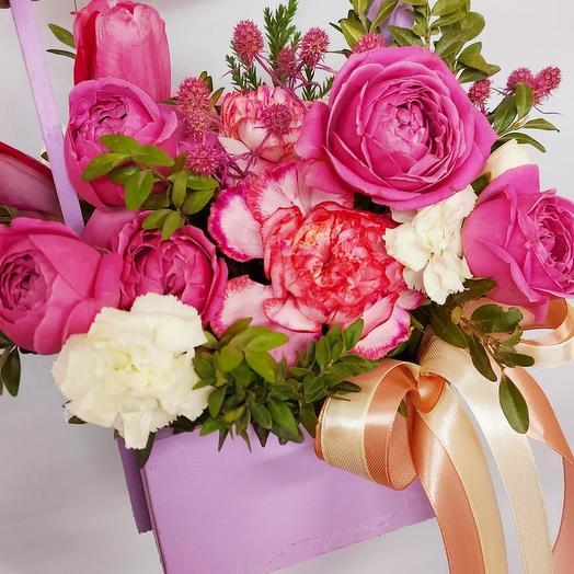 Розовый бох