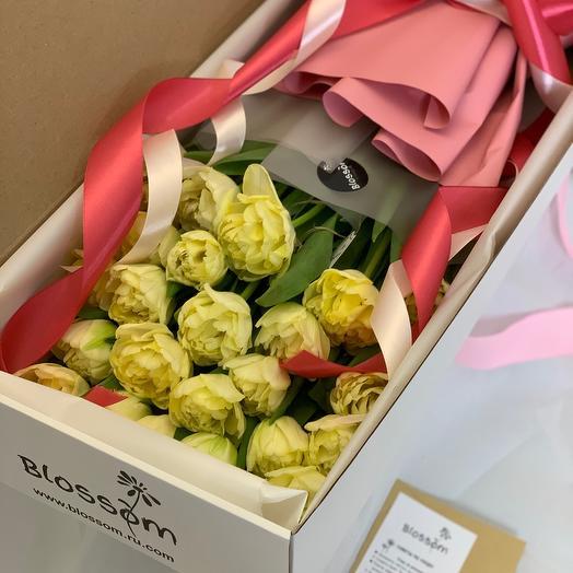 Тюльпаны в коробке box