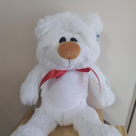 Медведь белый 44 см