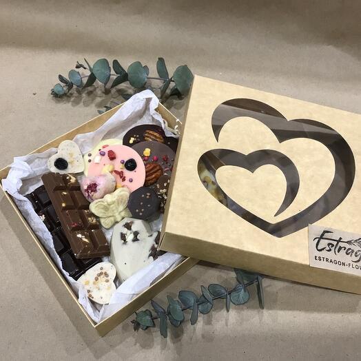 Ассорти бельгийского шоколада ручной работы