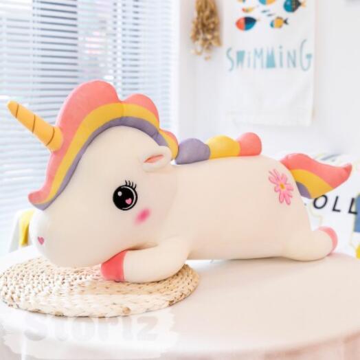 "Мягкая игрушка ""Cute Unicorn"" белый 60 см"