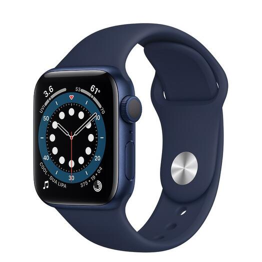 Apple Watch Series 6 GPS 40mm Aluminum Case with Sport Band, Blue