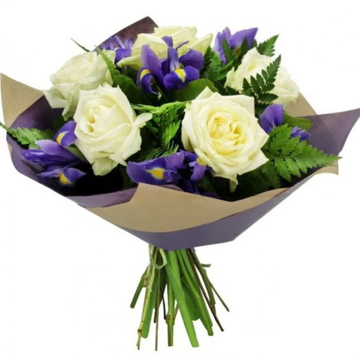 Подарок эльфов: букеты цветов на заказ Flowwow