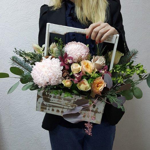Большой ящик: букеты цветов на заказ Flowwow