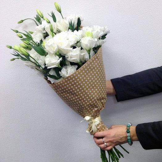 19 эустом: букеты цветов на заказ Flowwow