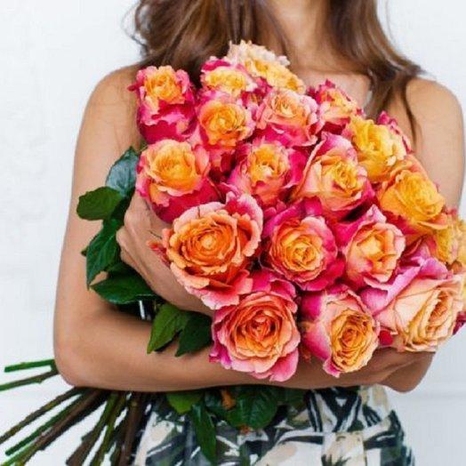 23 Розы Cорт  3D: букеты цветов на заказ Flowwow