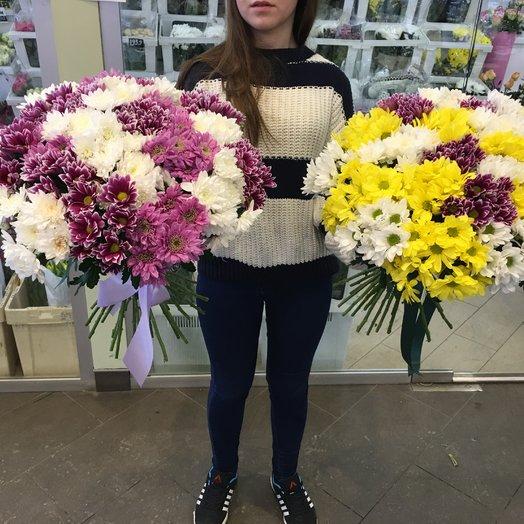 Хризантема Вау: букеты цветов на заказ Flowwow